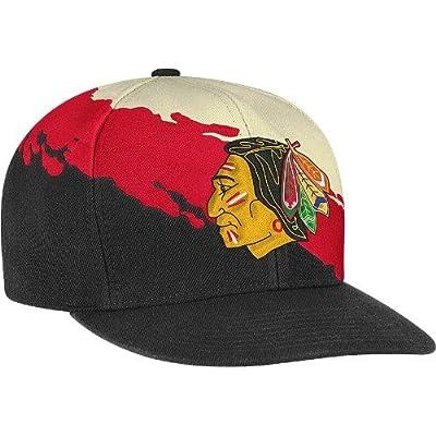 Mitchell & Ness Chicago Blackhawks Mitchell & Ness NHL Vintage Paintbrush Snap Back Hat at Sears.com