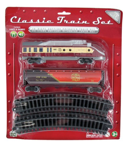 WowToyz Classic Train Set - Diesel Engine with Tanker