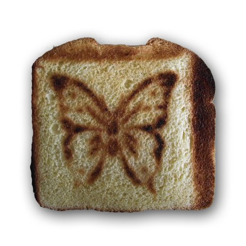 Butterfly Toaster (Yellow)