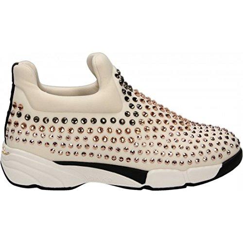 PINKO Gem sneaker 1h207k y241 ZN3 sneaker in neoprene - Beige, EUR 36