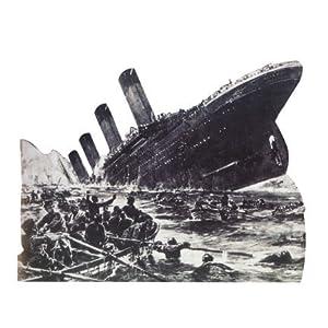 Amazon Com Wgh27004 Rms Titanic Sinking Vinyl Wall