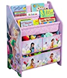 DISNEY FAIRIES BOOK AND TOY ORGANIZER