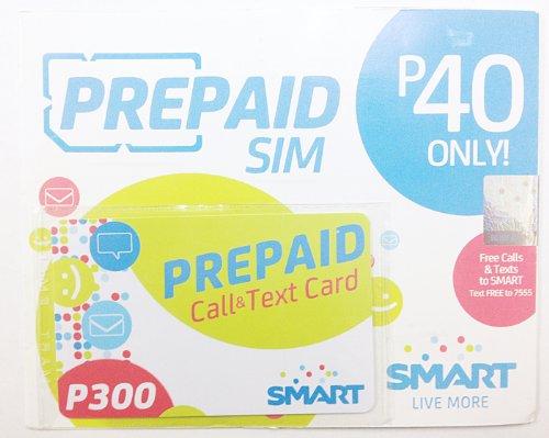 Smart プリペイドSIMリチャージカードセット 2G通信規格専用(GSM)6041
