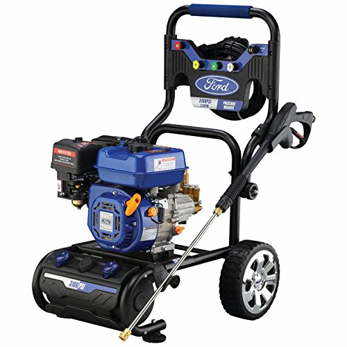Ford Fpwg3100H-J Gas Powered Pressure Washer, 3100Psi