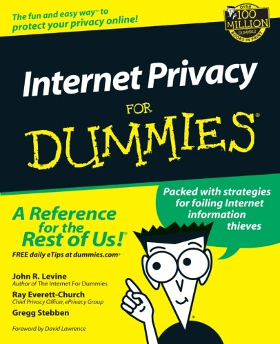 Internet Privacy For Dummies front-517649