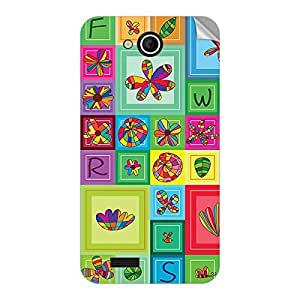 Garmor Designer Mobile Skin Sticker For Lava Flair Z1 - Mobile Sticker