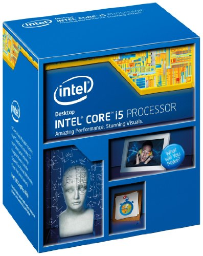 Intel BX80646I54670K - INTEL CORE i5-4670K 3.4GHz QUAD-CORE 6MB 84w HD4000 SKT1150 HASWELL CPU RETAIL