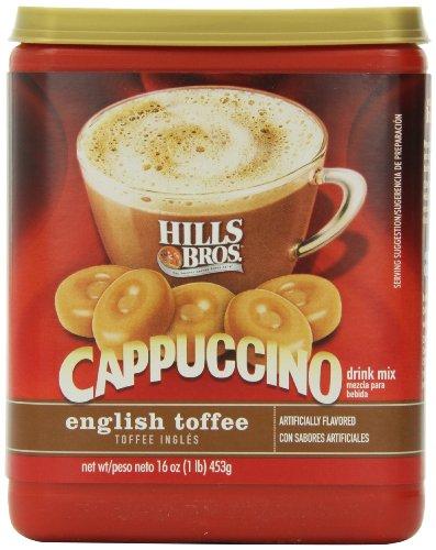 hills-bros-cappuccino-english-toffee-16oz
