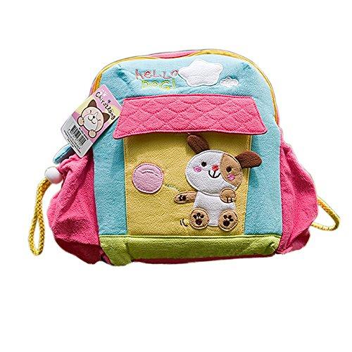 [Hello Dog] School Backpack (7.9*8.7*2.4) front-934186