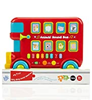 My First Carry Along Animal Sound Bus Toy