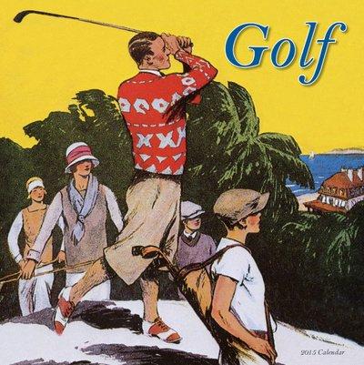 (12X12) Golf - 2015 Calendar