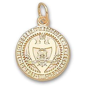 Georgia Tech Seal 9 16 - 14K Gold by Logo Art