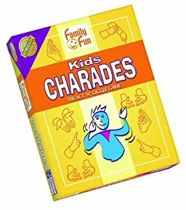 Charades for Kids - An Imaginative Classic Party Game for Young Kids by Outset Media