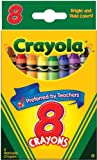 Crayola 8 Ct Crayons (Discontinued by manufacturer)