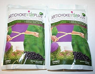 Artichoke Vitae Plus 100% Natural Source of Fiber, Antioxidants, Vitamins and Minerals 14oz (PACK OF 2)