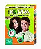 Korra Hair Coloring Shampoo 3.0 Darkest Brown 30ml Pack of 10