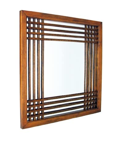 Charleston Burma Mirror, Brown