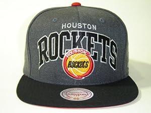 Mitchell and Ness NFL Houston Rockets Arch 2 Tone Retro Snapback Cap by Mitchell & Ness