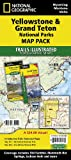 Yellowstone and Grand Teton National Parks [Map Pack Bundle] (National Geographic Map)