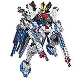 New LOZ Diamond Block I Robots Gundam D Series 19cm 689pcs #9354 Parent-child Games Building Blocks Children's Educational Toys