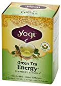 Yogi Energy Green Tea, 16 Tea Bags (one box)