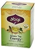 Yogi Energy Green Tea, 16 Tea Bags (one box)