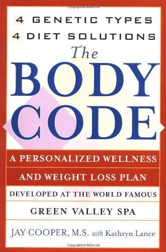 The Body Code: A Personal Wellness And Weight Loss Plan At The World Famous Green Valley Spa (New York) front-982743