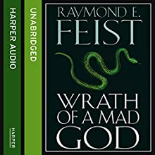 Wrath of a Mad God: Darkwar, Book 3 (       UNABRIDGED) by Raymond E. Feist Narrated by Peter Joyce