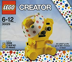 "LEGO Creator ""BBC Children in Need"" Pudsey bear #30029"