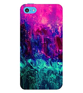 EPICCASE girly colors Mobile Back Case Cover For Apple iPhone 5c (Designer Case)