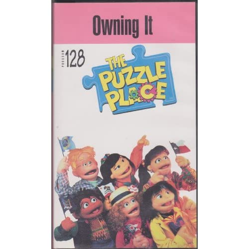 The puzzle place owning it vhs tape 1997