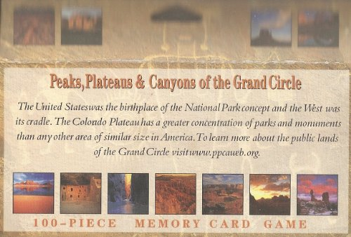 Peaks Plateaus & Canyons of Grand Circle-Memory Game - 1