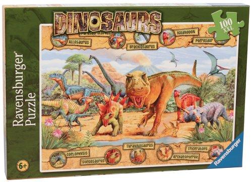 Ravensburger Dinosaurs - 100 Pieces Puzzle
