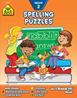 Spelling Puzzles: Grade 2 (An/I Know It! Books)