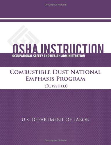 Osha Instruction: Combustible Dust Natonal Emphasis Program (Reissued)