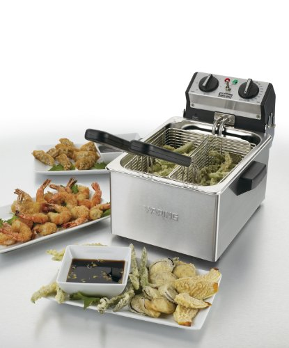 Waring WDF75RC Countertop Electric Deep Fryer