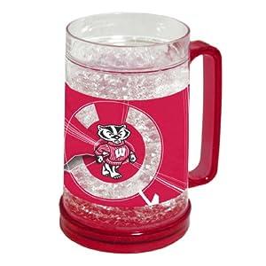 Buy NCAA Wisconsin Badgers 16-Ounce Crystal Freezer Mug by Northwest