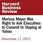 Marissa Mayer Was Right to Ask Executives to Commit to Staying at Yahoo | Reid Hoffman,Ben Casnocha,Chris Yeh