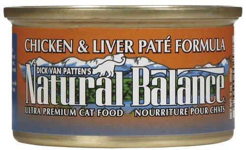 Natural Balance Ultra Premium Chicken & Liver Paté Canned Cat Formula