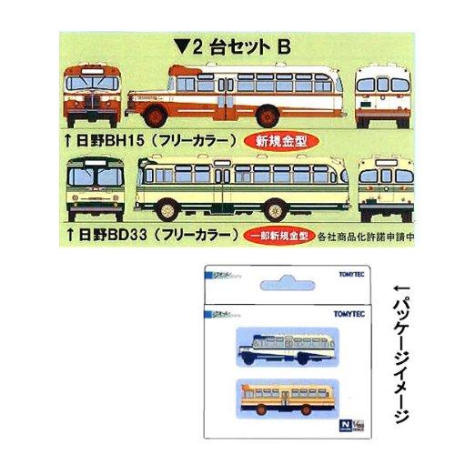 【トミーテック】ザ・バスコレクションバスコレ2台セットB(日野BH15・BD33)TOMYTEC110424