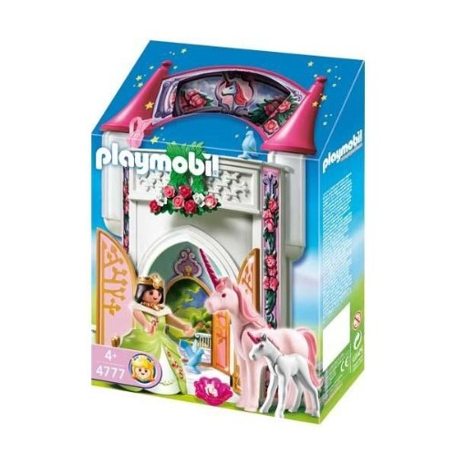 Playmobil-4777-Jeu-de-construction-Donjon-de-la-licorne-transportable