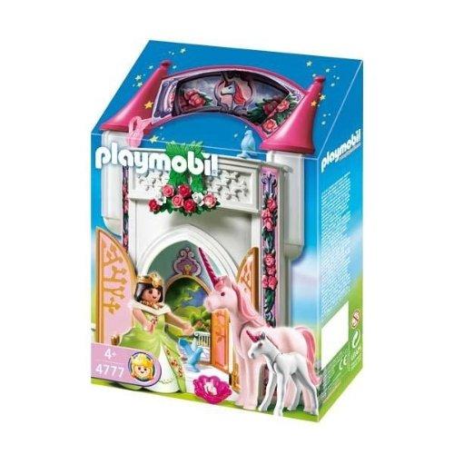 Playmobil-4777-Jeu-de-construction-Donjon-de-la-licorne-transportable