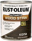 Rust-Oleum 260154 Ultimate Wood Stain, Quart, Kona