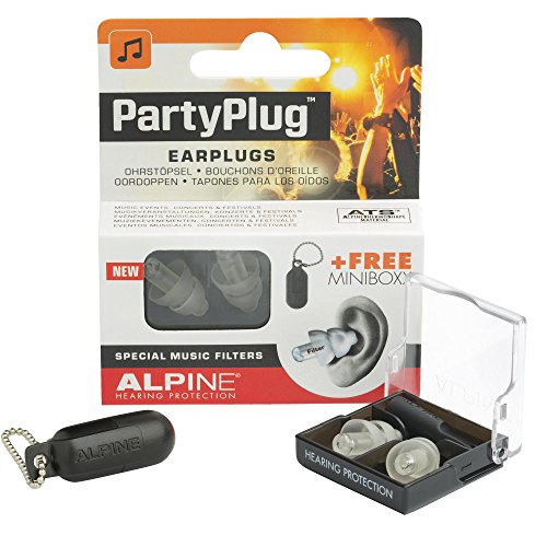 Alpine AMS-PARTYPLUG-CLR - Tapones para los oídos, transparente