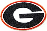 NCAA University of Georgia BULLDOGS Football Team Logo Polo Shirt jacket Sew Iron on Embroidered Badge Sign at Amazon.com