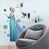 RoomMates Frozen Peel and Stick Wall Decal Mega Pack, 80 Pieces
