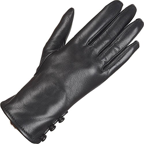 Wilsons Leather Womens Three Button Faux-Fur Lined Cuff Glove W/ Fourchette XL B (Wilson Leather Cleaner compare prices)
