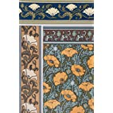 Poppies wallpaper, by Eugene Samuel Grasset (Print On Demand)