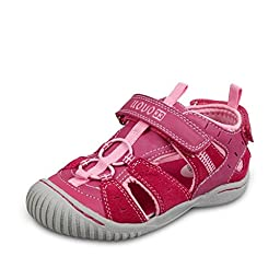 MaxS UOVO Summer Casual Sports Sandals Beach Shoes - Pink