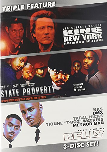 King of New York / State Property / Belly (3 DVD Pack) (King Of New York Movie compare prices)